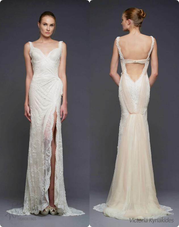 6379977294 Victoria Kyriakides Fall Winter 2015 Wedding Dresses - (aSheUm Gallery)